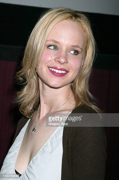 """Thora Birch during 4th Annual Tribeca Film Festival - """"Slingshot"""" Press Conference at Regal Cinemas in New York City, New York, United States."""