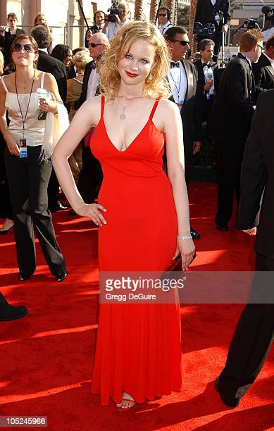 Thora Birch during 55th Annual Primetime Emmy Awards Arrivals/DeGuire at The Shrine Auditorium in Los Angeles California United States