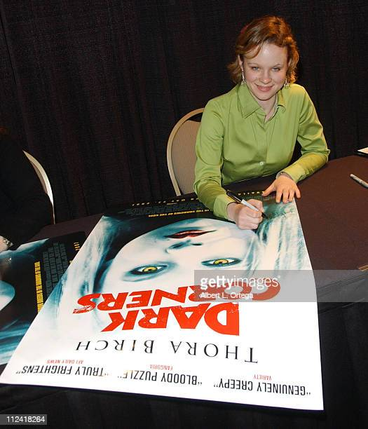 Thora Birch during Creation Entertainment Presents Fangoria's 2007 Weekend Of Horrors - Day 3 at Burbank Airport Marriott Hotel in Burbank,...