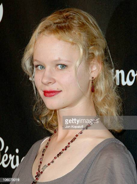 Thora Birch during Dom Perignon and Karl Lagerfeld International Launch Event Arrivals at Private Residence in Beverly Hills California United States