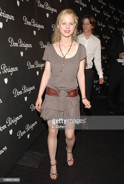 Thora Birch during Dom Perignon Karl Lagerfeld and Eva Herzigova Host an International Launch Event to Unveil the New Image of Dom Perignon Rose...