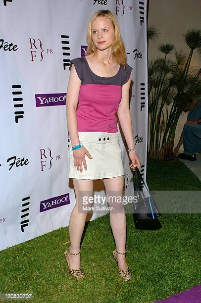 Thora Birch during Eric Podwall and Shane West Birthday Party June 18 2005 in Los Angeles California United States