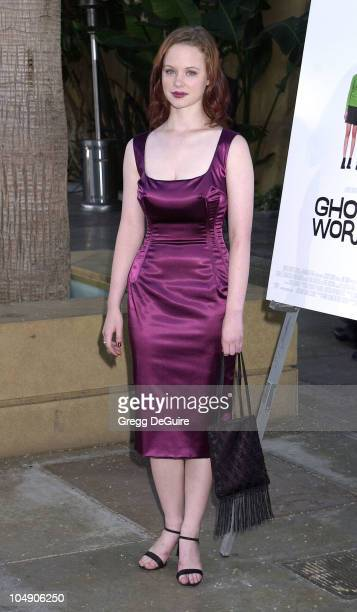 Thora Birch during Ghost World Premiere at Egyptian Theatre in Hollywood California United States