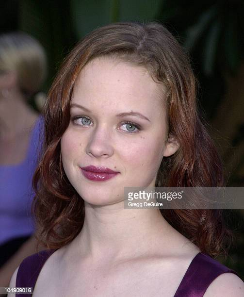 Thora Birch during 'Ghost World' Premiere at Egyptian Theatre in Hollywood California United States