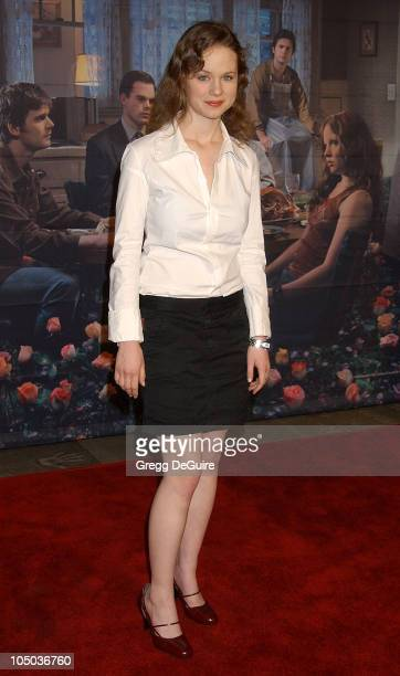 Thora Birch during Los Angeles Premiere of HBO's Six Feet Under at Grauman's Chinese Theatre in Hollywood California United States