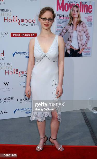 Thora Birch during Movieline's 4th Annual Young Hollywood Awards Arrivals at The Highlands in Hollywood California United States
