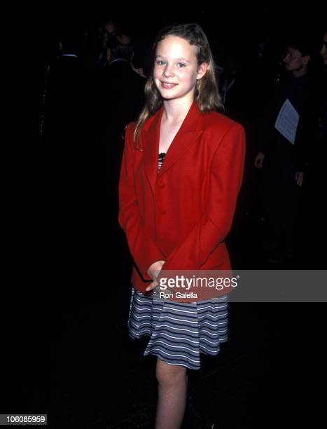 Thora Birch during Screening of The Outer Limits March 20 1995 at Directors Guild of America in Los Angeles California United States