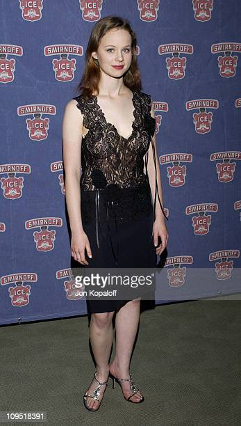 Thora Birch during Smirnoff Ice Endeavor Talent Agency Preparty for the MTV Movie AwardsArrivals at Pacific Design Center in Los Angeles California...