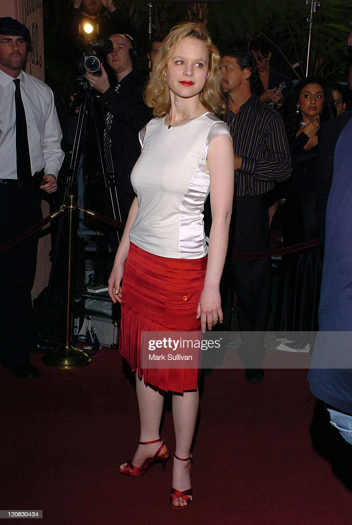 Thora Birch during The 15th Annual Night of 100 Stars Oscar Gala - Arrivals at The Beverly Hills Hotel in Beverly Hills, California, United States.
