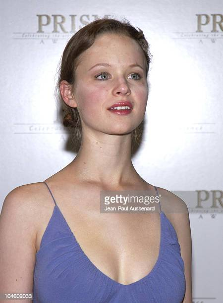 Thora Birch during The 6th Annual Prism Awards at CBS Television City in Los Angeles California United States