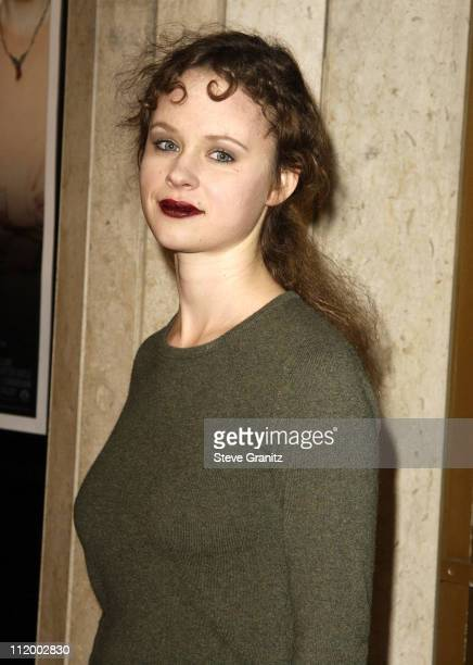Thora Birch during The Hours Premiere Los Angeles at Mann's National Theatre in Westwood California United States