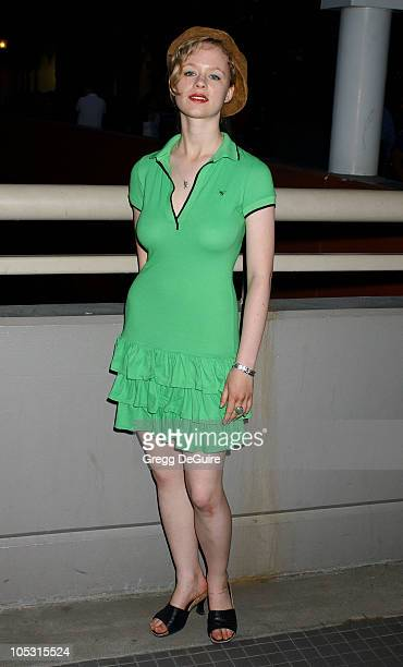 Thora Birch during The Revenge Of The Mummy The Ride Opening At Universal Studios at Universal Studios in Universal City California United States