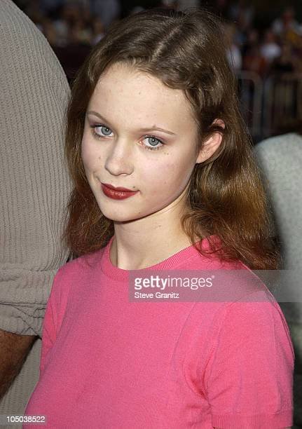 """Thora Birch during """"Windtalkers"""" Premiere at Grauman's Chinese Theatre in Hollywood, California, United States."""
