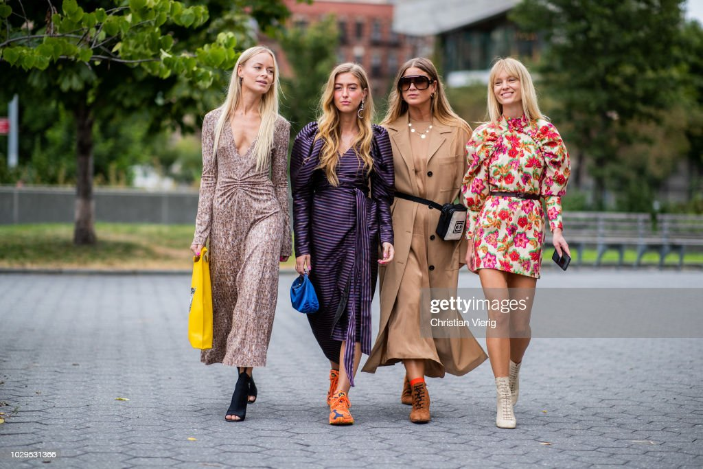 Street Style - New York Fashion Week September 2018 - Day 4 : Foto jornalística