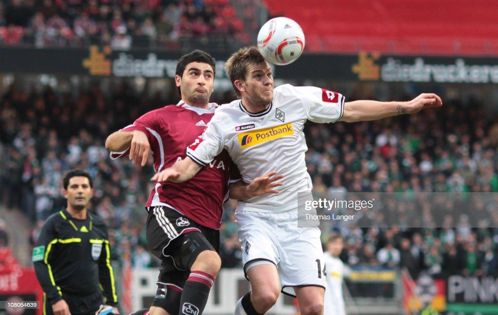 1. FC Nuernberg v Borussia M'gladbach - Bundesliga