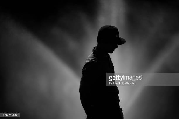 Thorbjorn Olesen of Denmark during the second round of the Turkish Airlines Open at the Regnum Carya Golf Spa Resort on November 3 2017 in Antalya...
