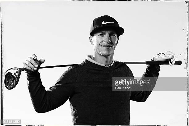 Thorbjorn Olesen of Denmark poses ahead of the 2016 Perth International at Lake Karrinyup Country Club on February 24 2016 in Perth Australia