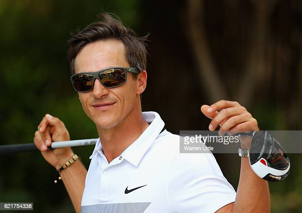 Thorbjorn Olesen of Denmark poses for a portrait ahead of the Nedbank Golf Challenge at the Gary Player CC on November 8, 2016 in Sun City, South...