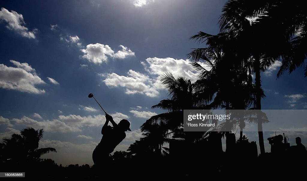 Thorbjorn Olesen of Norway during the final round of the Omega Dubai Desert Classic on February 3, 2013 in Dubai, United Arab Emirates.