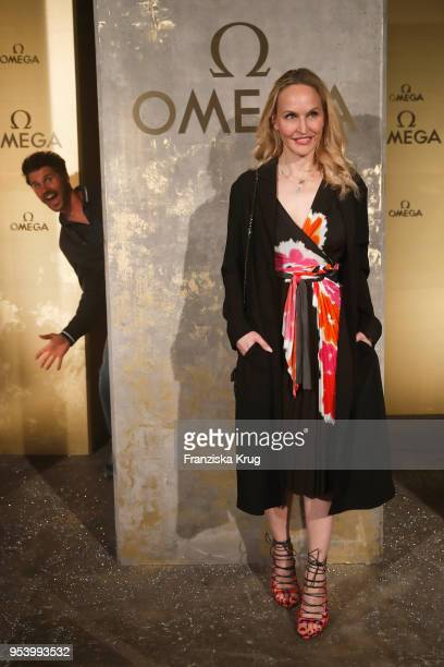 Thore Schoelermann and Anne MeyerMinnemann attend the OMEGA Tresor Event at Kraftwerk Mitte on May 2 2018 in Berlin Germany