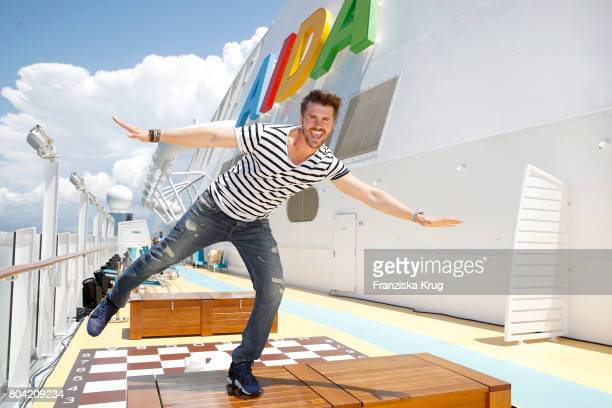 Thore Schoelermann during the AIDA Cruise Ship Launching Ceremony on June 30 2017 in Palma de Mallorca Spain