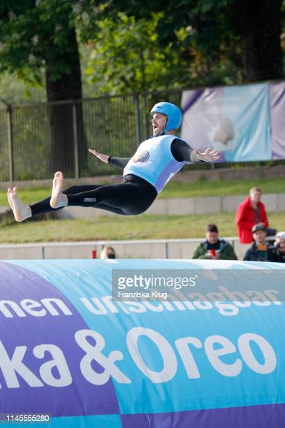 Thore Schoelermann during the Milka Charity Blobbing-Event at Hamburger Stadtpark on May 22, 2019 in Hamburg, Germany.
