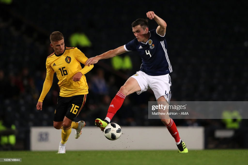Scotland v Belgium - International Friendly : Fotografia de notícias