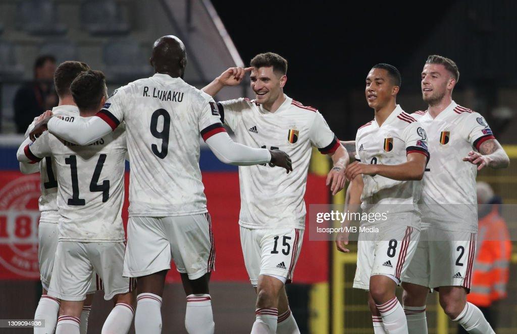 Belgium v Wales - FIFA World Cup 2022 Qatar Qualifier : Fotografía de noticias