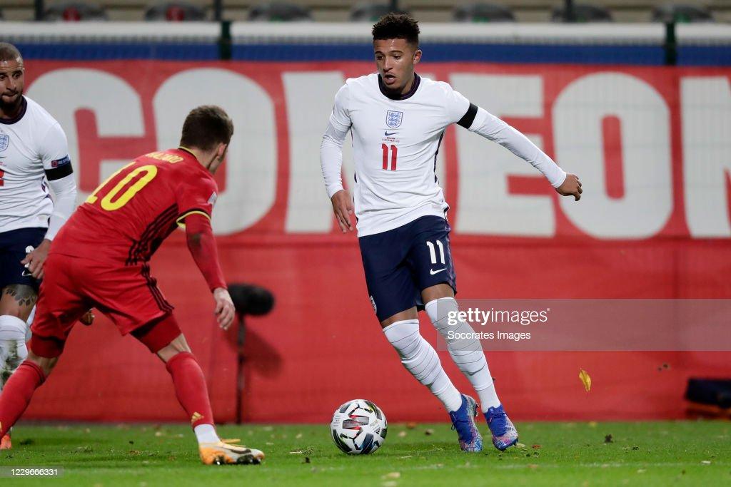 Belgium  v England -UEFA Nations league : News Photo