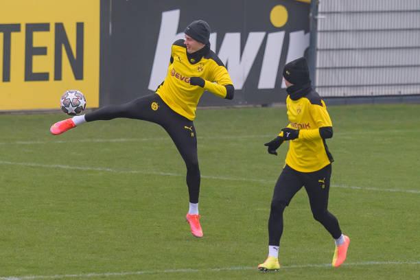 DEU: Borussia Dortmund Training Session