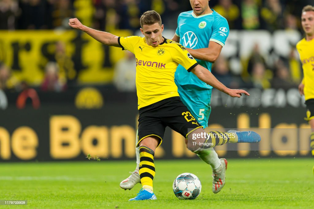 Borussia Dortmund v VfL Wolfsburg - Bundesliga : News Photo
