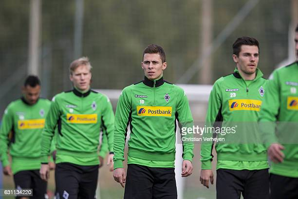 Thorgan Hazard of Borussia Moenchengladbach during a Training Session at Borussia Moenchengladbach Training Camp on January 07 2017 in Marbella Spain