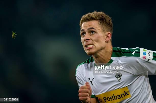 Thorgan Hazard of Borussia Moenchengladbach during the Bundesliga match between Borussia Moenchengladbach and Eintracht Frankfurt at Borussia-Park on...