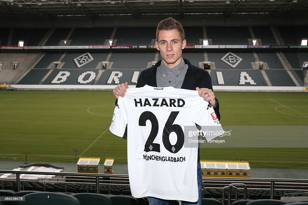 Thorgan Hazard Signing Contract At Borussia Moenchengladbach