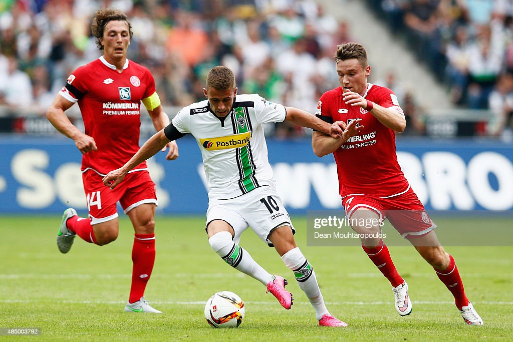 Borussia Moenchengladbach v 1. FSV Mainz 05 - Bundesliga : News Photo