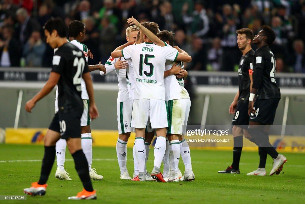 Borussia Moenchengladbach v Eintracht Frankfurt - Bundesliga : Nachrichtenfoto