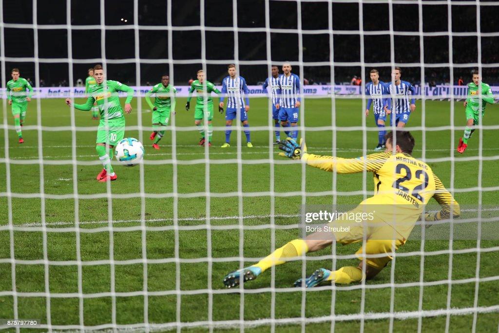 Hertha BSC v Borussia Moenchengladbach - Bundesliga