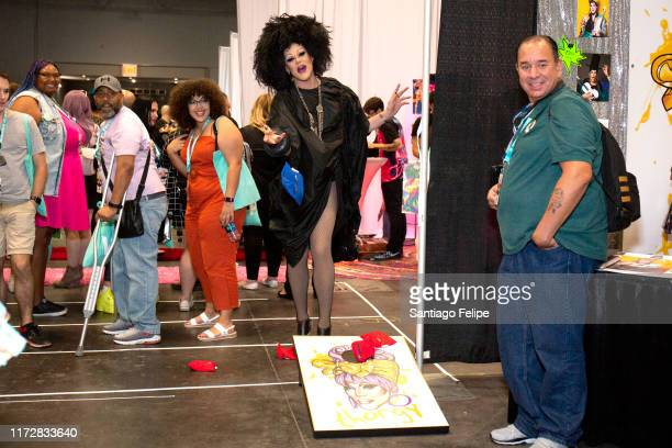 Thorgy Thor attends RuPaul's DragCon 2019 at The Jacob K Javits Convention Center on September 06 2019 in New York City
