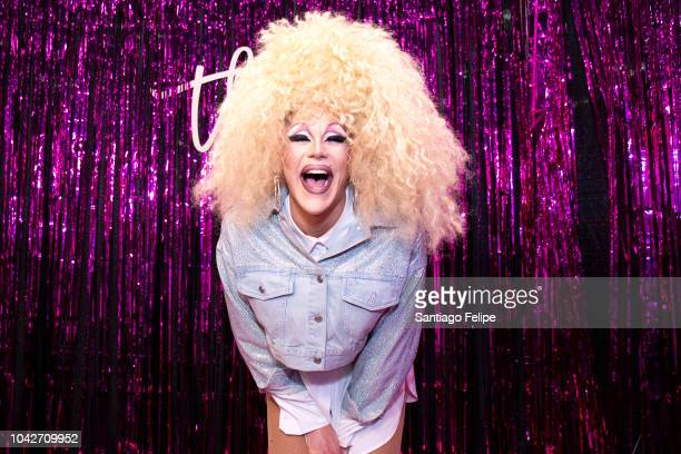Thorgy Thor attends RuPaul's DragCon NYC 2018 at Javits Center on September 28 2018 in New York City