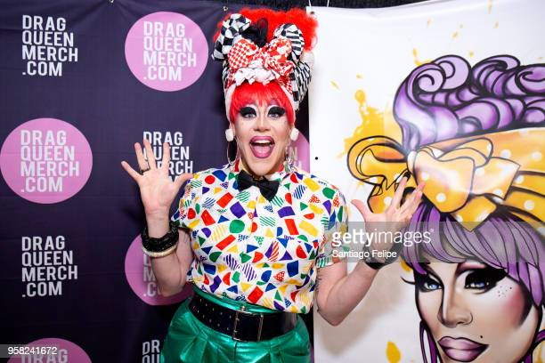 Thorgy Thor attends the 4th Annual RuPaul's DragCon at Los Angeles Convention Center on May 13 2018 in Los Angeles California