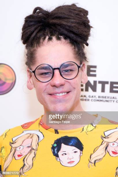 Thorgy Thor attends 'The Drag Roast Of Sherry Vine' at The LGBT Community Center on October 23 2017 in New York City