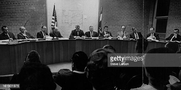 JAN 8 1968 JAN 10 1968 Thornton Gets Home Rule Council Thornton's first city council under its new home rule charter was sworn in Monday In photo...