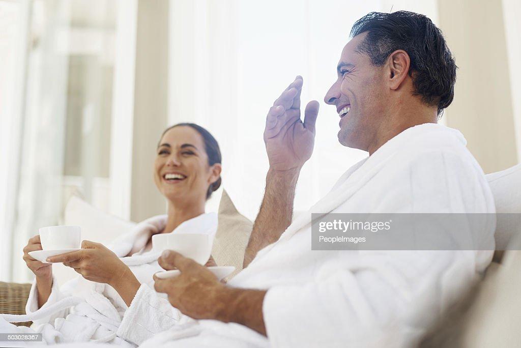 Completo relax nella nostra spa giorno : Foto stock