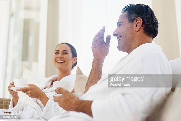 thorough enjoyment on our spa day - serene people stock pictures, royalty-free photos & images