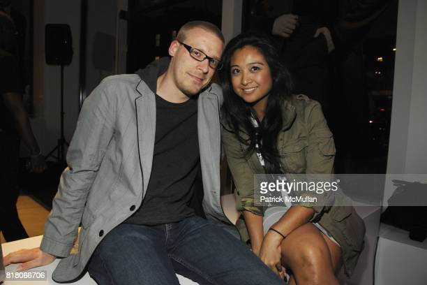 Thorsten Hayer Danielle Baena attend THEORY'S FASHION INSIDERS present THE REMIX one night only spin Fashion Night Out 2010 at Theory on September 10...