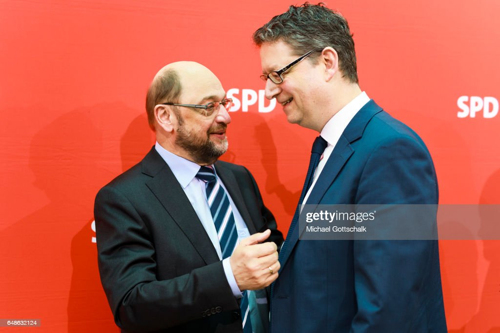 SPD party board meeting
