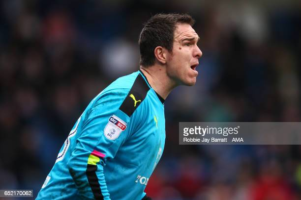 Thorsten Stuckmann of Chesterfield during the Sky Bet League One match between Chesterfield and Shrewsbury Town at Proact Stadium on March 11 2017 in...