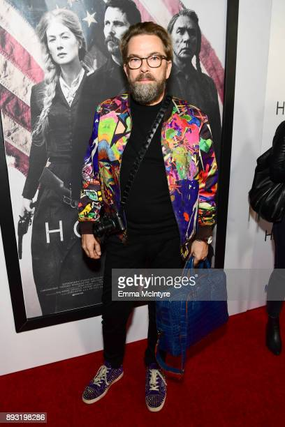 Thorsten von Overgaard attends the premiere of Entertainment Studios Motion Pictures' 'Hostiles' at Samuel Goldwyn Theater on December 14 2017 in...