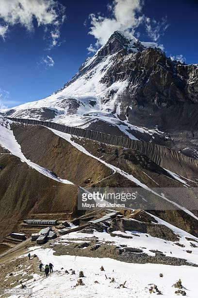 Thorung high camp, 4800m, Annapurna circuit, Nepal