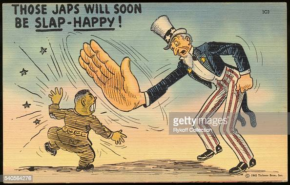 Those Japs Will Soon Be Slap Happy News Photo Getty Images